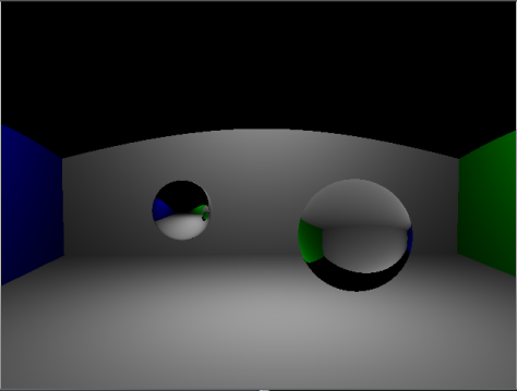 Whitted Ray Tracer without shadows